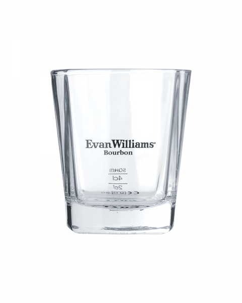 Evan Williams Whiskey Tumbler Glas