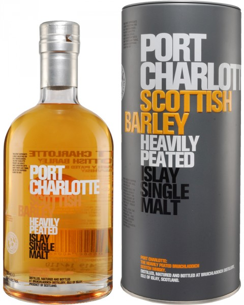 Port Charlotte Scottish Barley Heavily Peated 0,7l
