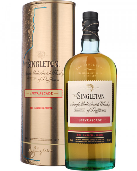Singleton Spey Cascade Gold Edition in Metall Geschenkdose 0,7l