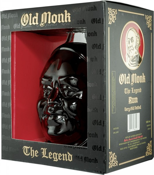 Old Monk Rum The Legend 1,0l