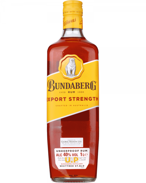 Bundaberg Rum Export Strength 1,0l