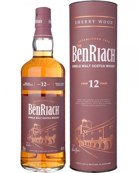 BenRiach 12 Jahre Sherry Wood 0,7l
