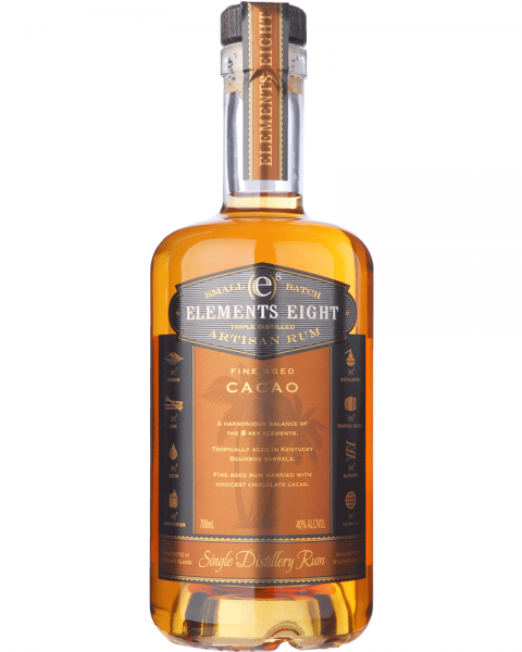 Elements 8 Fine Aged CACAO Small Batch Rum 0,7l
