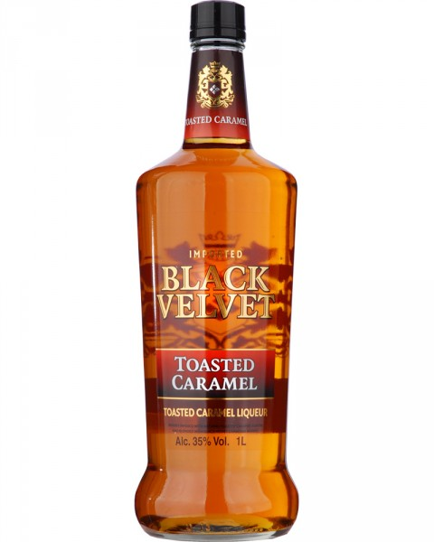 Black Velvet Toasted Caramel 1,0l