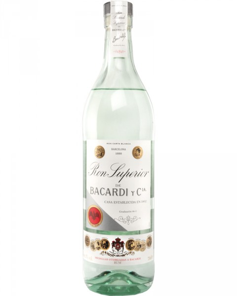 Bacardi Superior Rum 44,5%vol. 0,7l