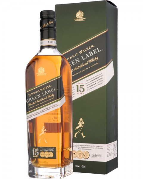 Johnnie Walker Green Label 15 Years 0,7l
