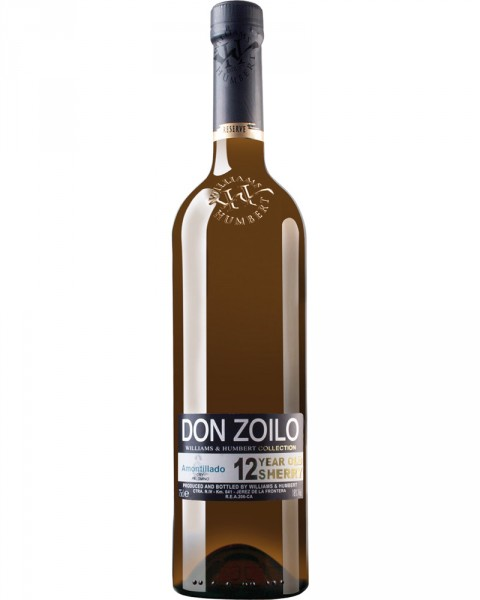 Don Zolio W&H Collection Medium Dry Amontillado 12 Jahre 0,75l