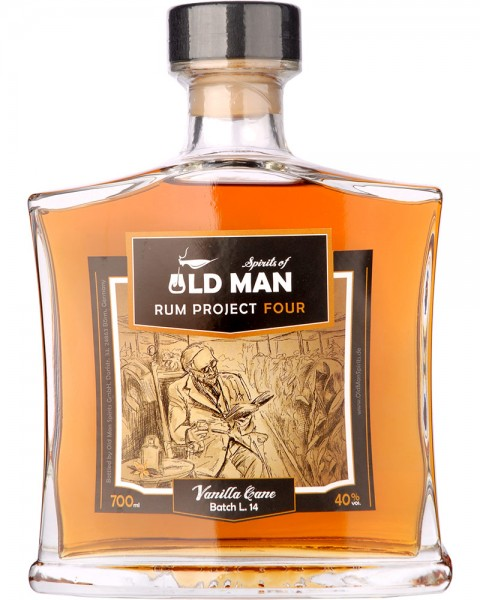 Old Man Rum Project FOUR Vanilla Cane 0,7l