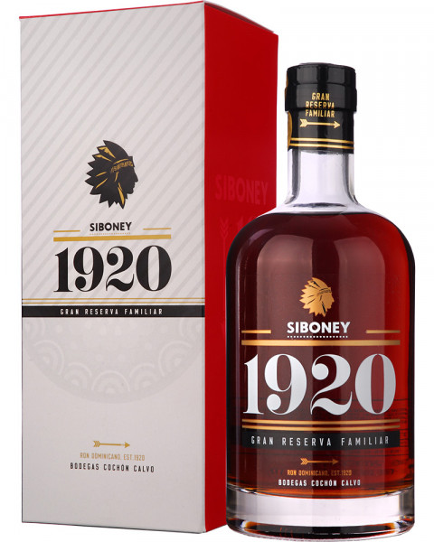 Ron Siboney 1920 Gran Reserva Familiar Rum GP 0,7l