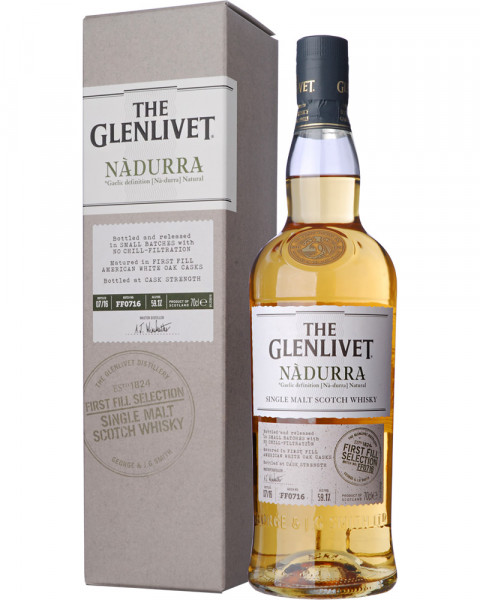 The Glenlivet Nadurra Cask Strength First Fill American White Oak 0,7l