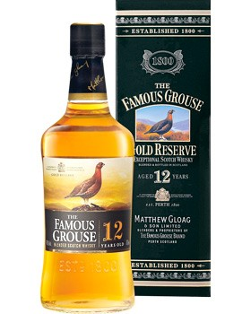 The Famous Grouse 12 Jahre Gold Reserve 0,7l