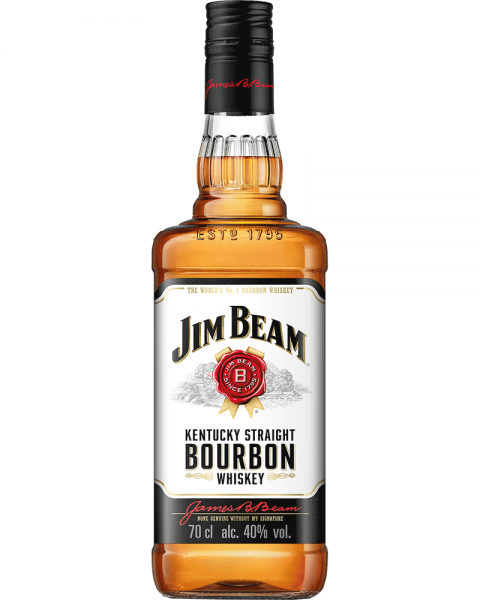 Jim Beam White Bourbon Whiskey 0,7l