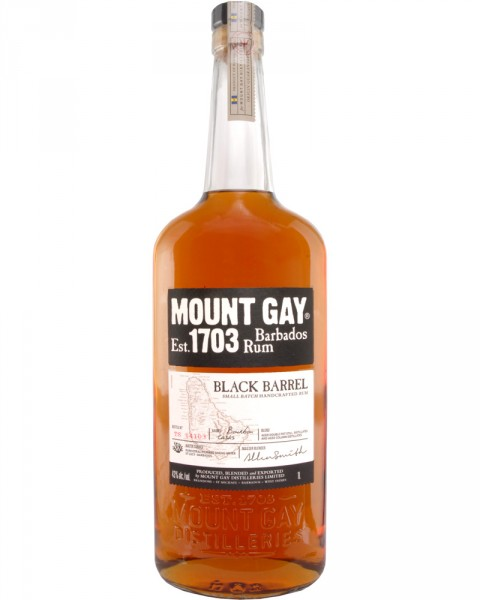 Mount Gay 1703 Black Barrel 1,0l
