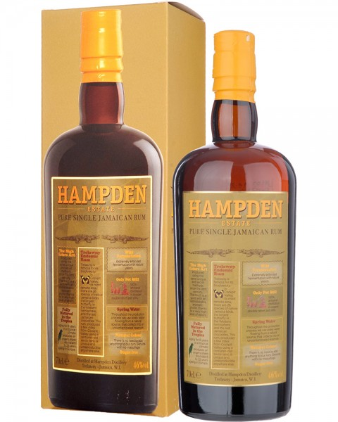 HAMPDEN Pure Single Jamaica Rum 0,7l