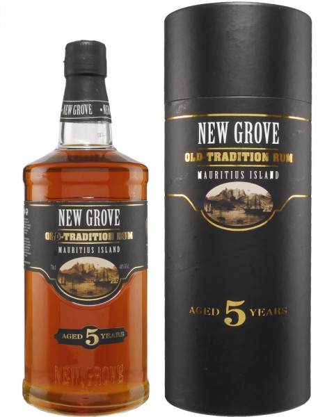 New Grove Old Tradition 5 Years Old Rum GP 0,7l