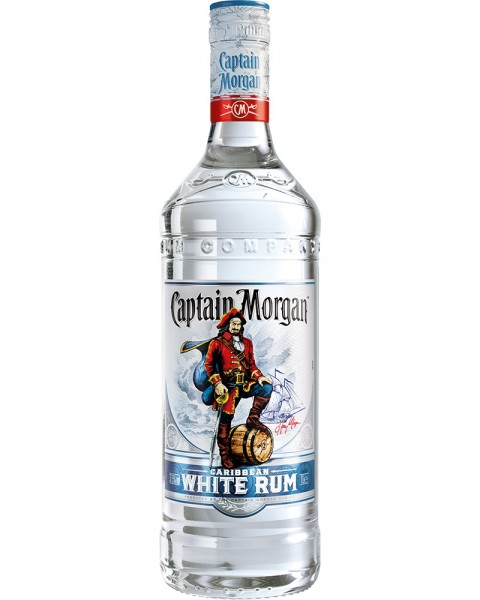 Captain Morgan White Rum 1,0l