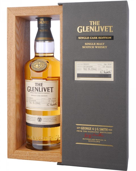 The Glenlivet Allargue 18 Jahre Single Cask Edition 0,7l