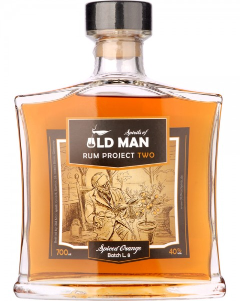 Old Man Rum Project TWO Spiced Orange 0,7l