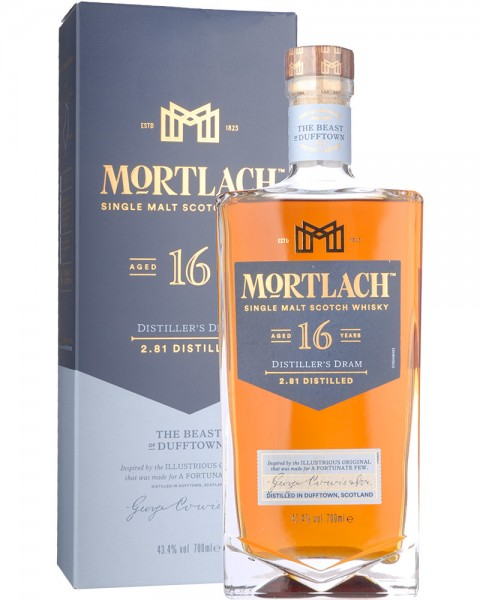 Mortlach 16 Years Distillers Dram 0,7l