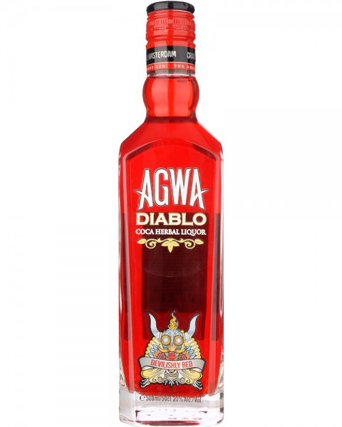 AGWA DIABLO Coca Herbal Liquor 0,5l