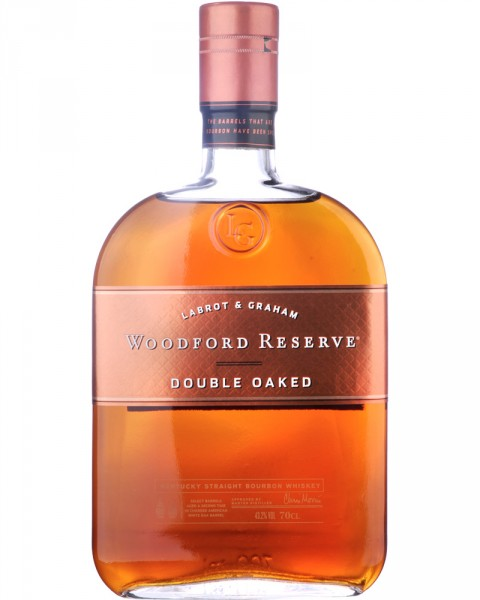 Woodford Reserve Double Oaked Bourbon Whiskey 0,7l