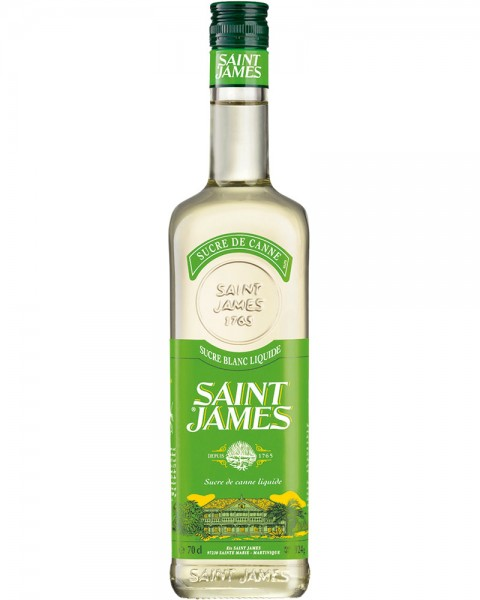 SAINT JAMES Sugre de Canne Rohrzucker Sirup 0,7l