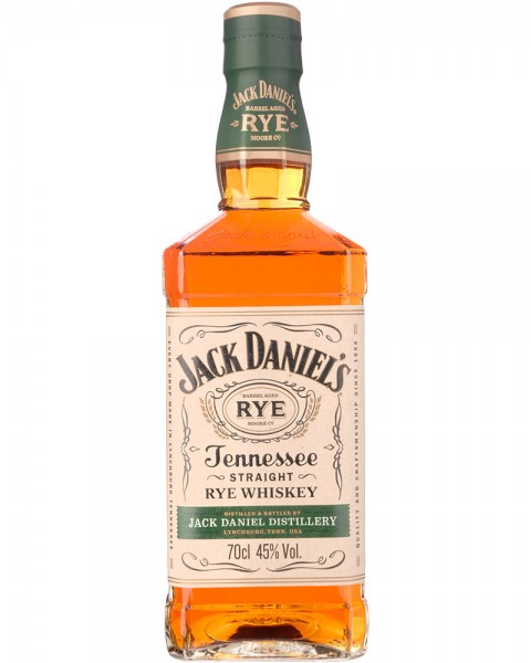Jack Daniels Straight Rye Tennessee Whiskey 0,7l