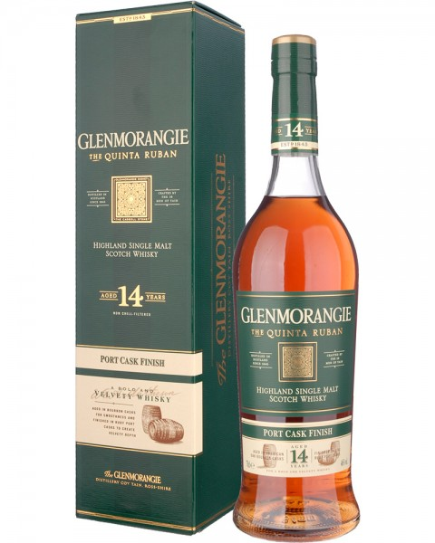 Glenmorangie Quinta Ruban 14 Years Port Cask Finish 0,7l