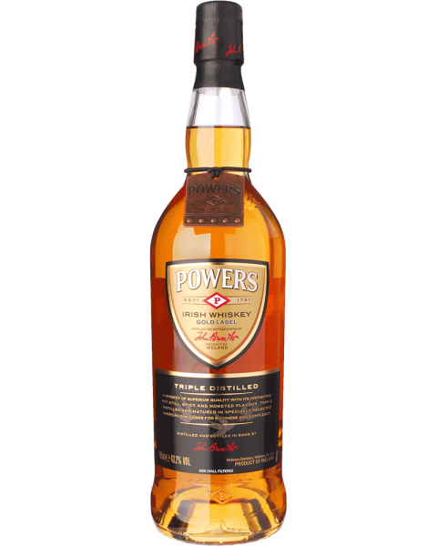 Powers Gold Label - Triple Distilled Irish Whiskey 0,7l