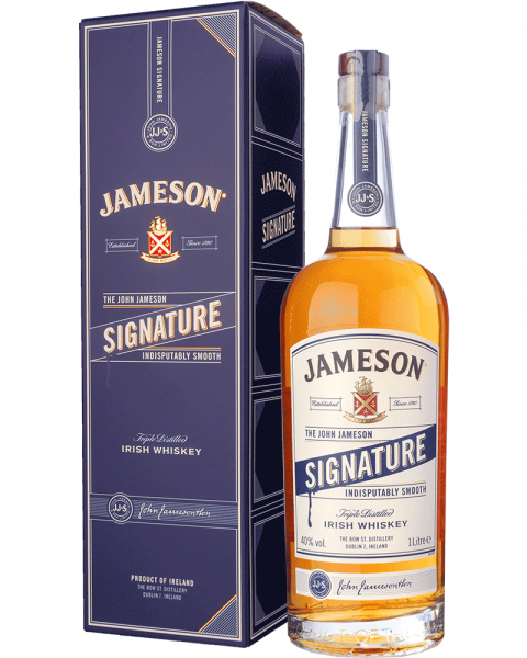 Jameson Signature Irish Whiskey 1,0l