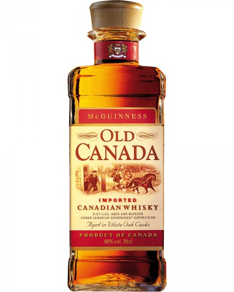 McGuinness Old Canada Whisky 0,7l