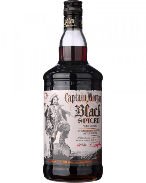 Captain Morgan Black Spiced 1,0l
