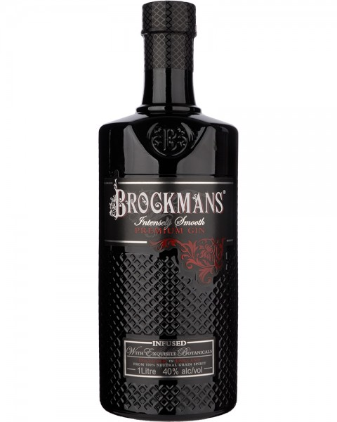 Brockmans Intensly Smooth Premium Gin 1,0l