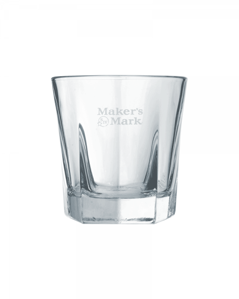 Makers Mark Bourbon Whiskey Tumbler Glas