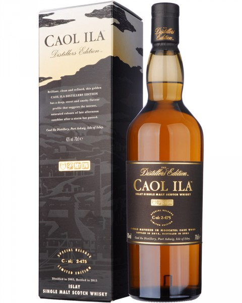 Caol Ila Distillers Edition 2003-2015 0,7l