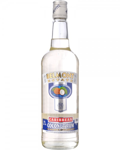 Belmont Estate White Coconut Spirit 0,7l