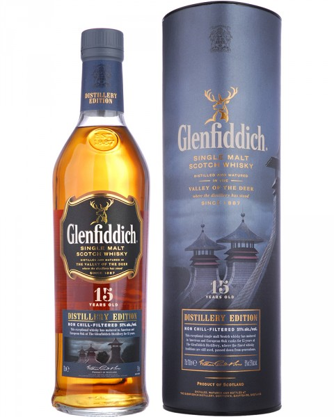 Glenfiddich 15 Jahre Distillery Edition 0,7l