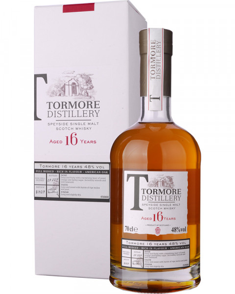 Tormore 16 Years 0,7l