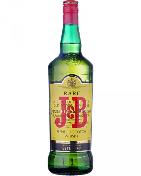J&B Rare Justerini & Brooks Blended Scotch Whisky 1,0l