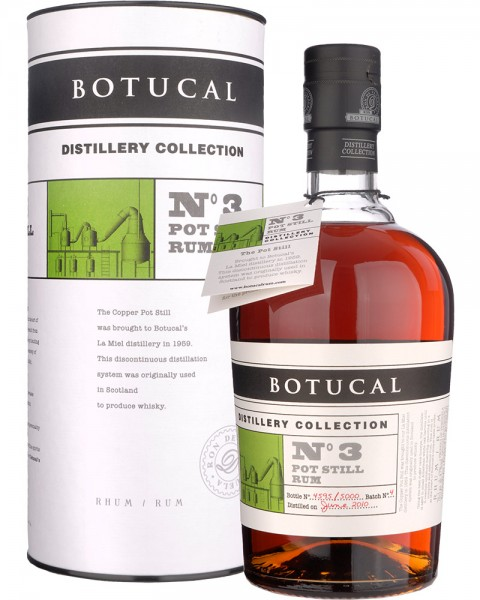 Ron Botucal Distillery Collection No3 Pot Still Rum 0,7l