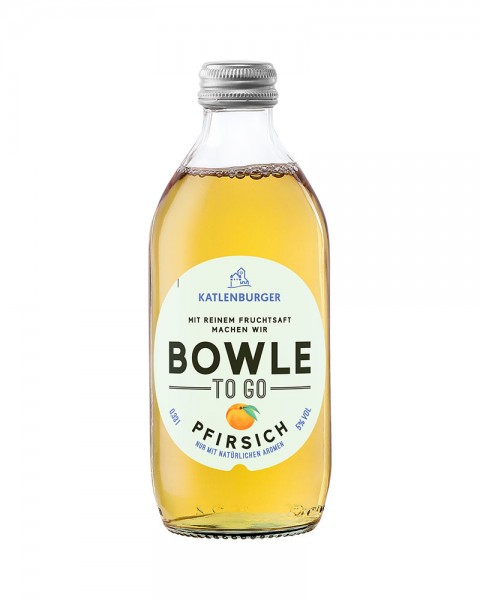 Bowle To Go Pfirsich 0,33l