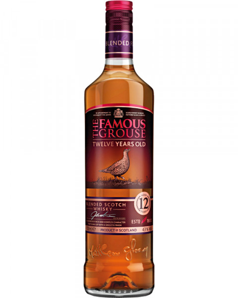 The Famous Grouse 12 Jahre 0,7l
