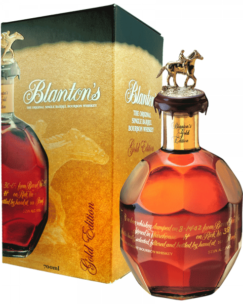 Blantons Gold Edition Bourbon Whiskey 0,7l